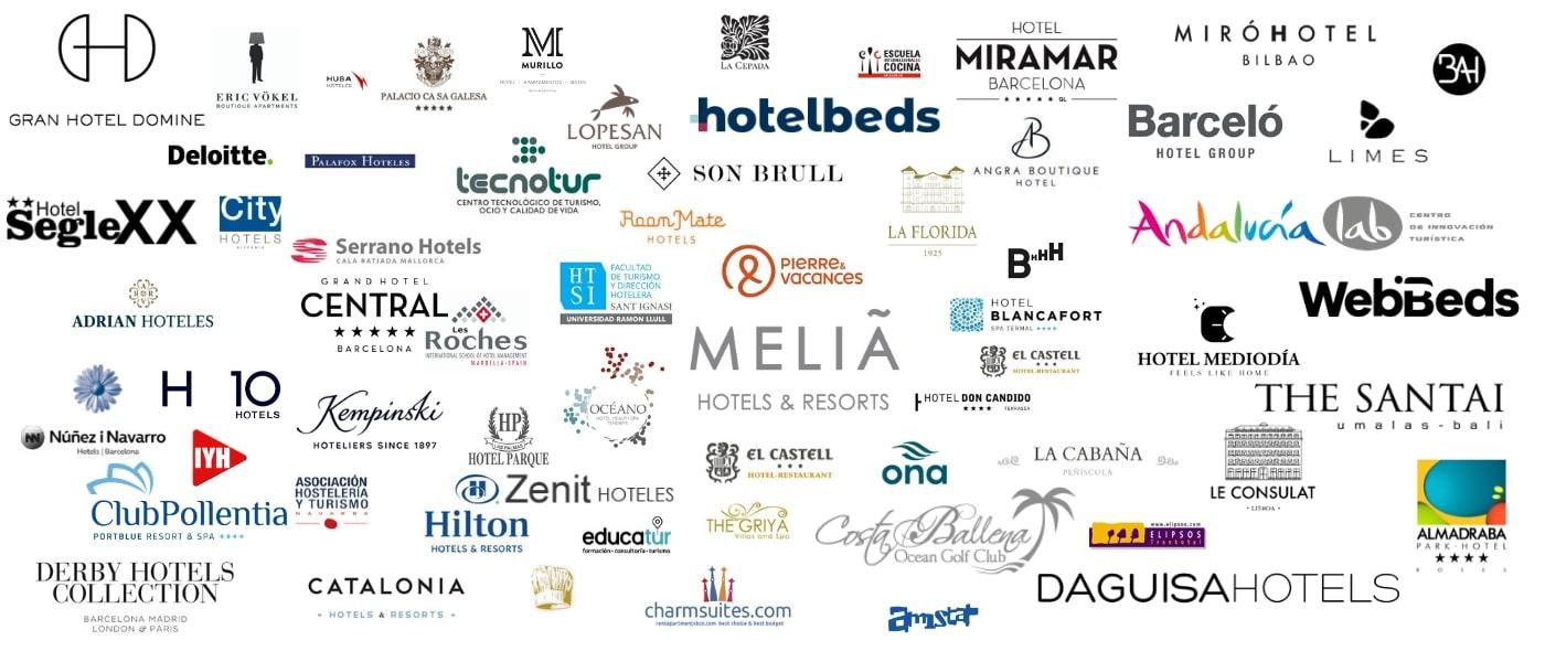 Nuestros clientes Hotello